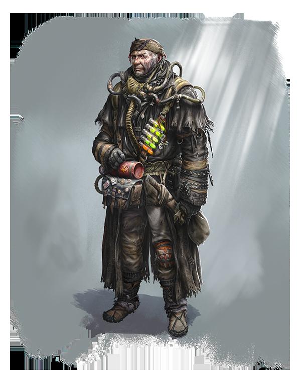 Portrait: Ezra: The Alchemist